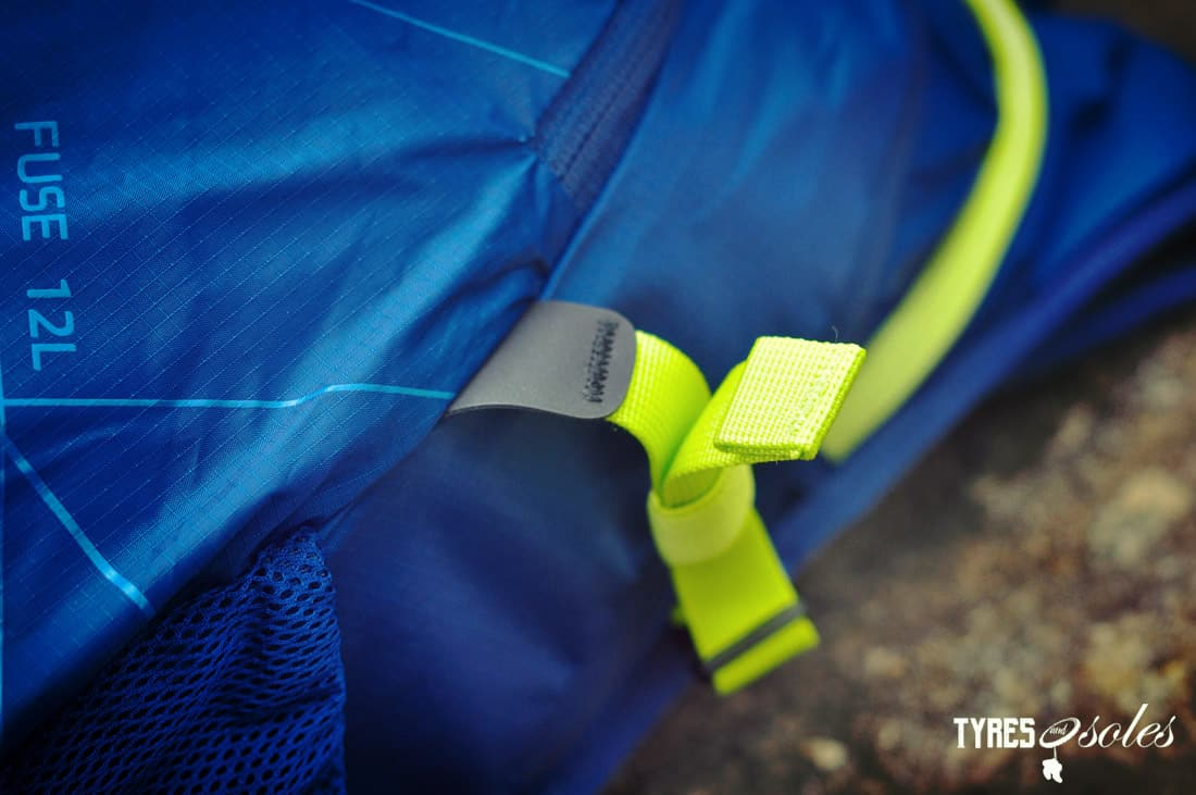 Seriously strong compression straps. Pic©Tyres and Soles