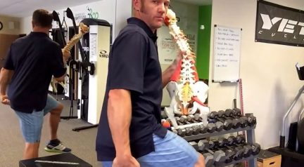 M.O.W.- Movement Of the Week – Hamstring Tightness Stretches