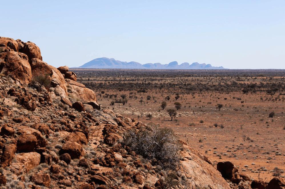 Big Uluru trek