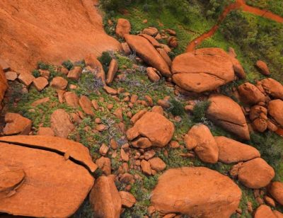 First Ever Drone Footage of Uluru