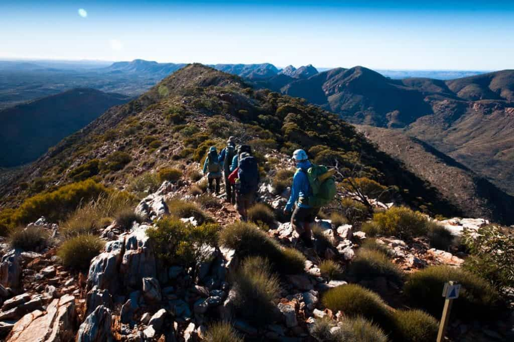 Larapinta Trail, ridge walking