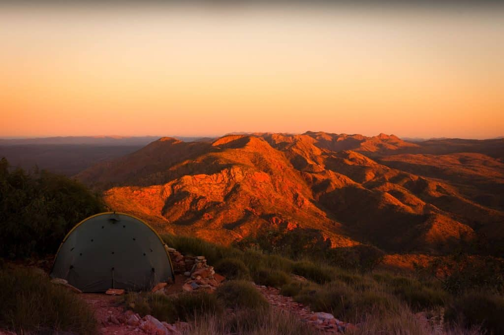 Australia...what a place! Brinkley Bluff, Larapinta Trail, NT, Australia. Pic:©Jason Lorch