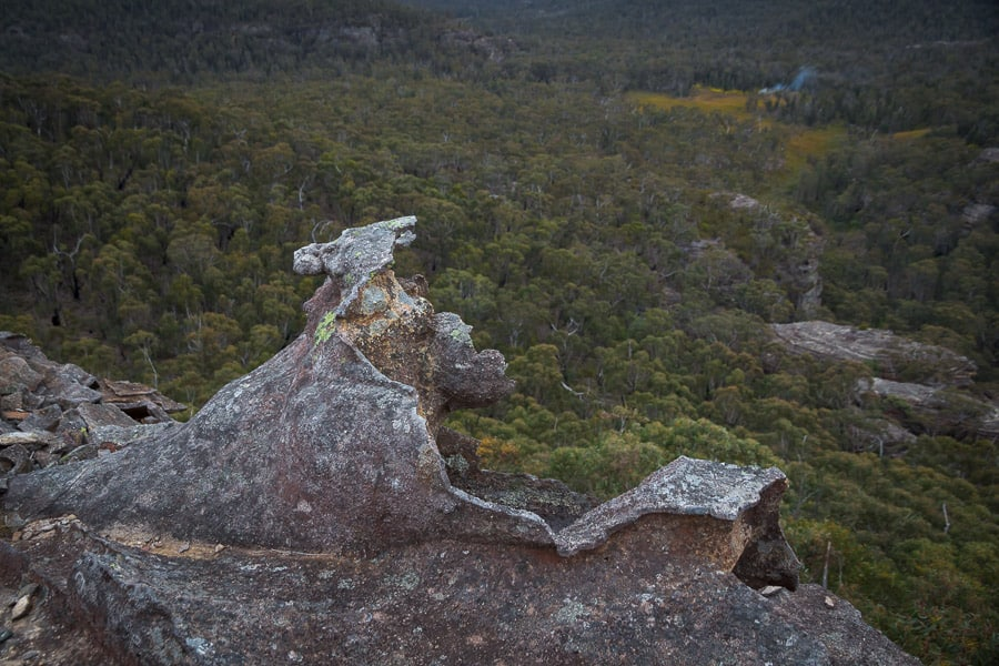 Asgard Plateau blue mountains hiking