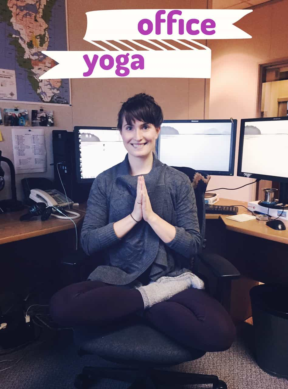 YOGA Special: Doing It In The Office