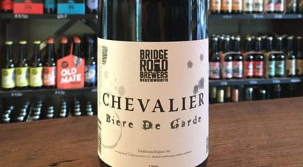 Taste Test: Bridge Road Brewers – Chevalier Biere De Garde