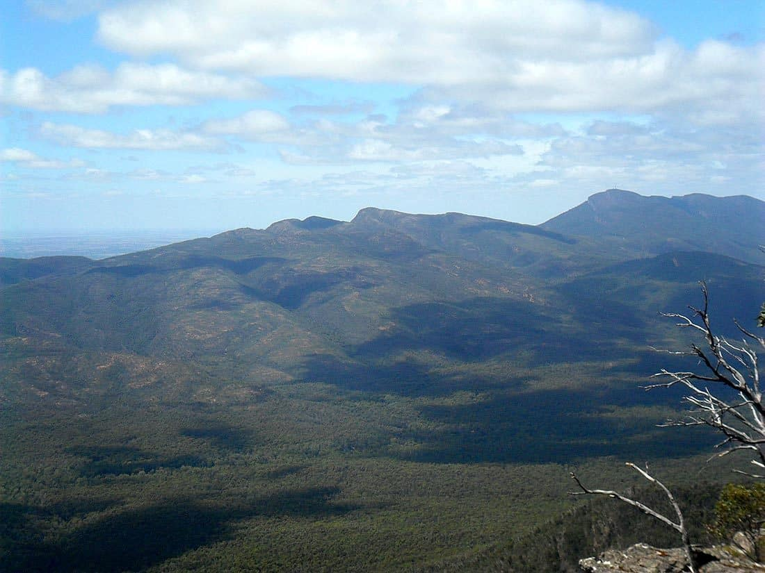 Mount William in the top right.