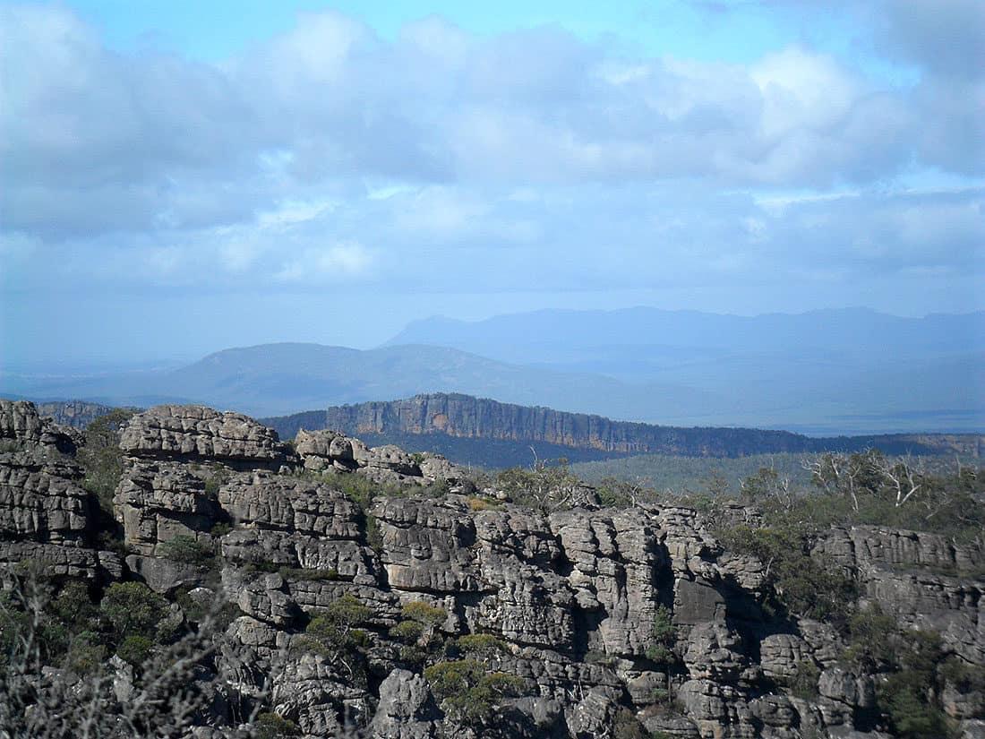 Some scenery- Stony Peak perhaps (middle)?