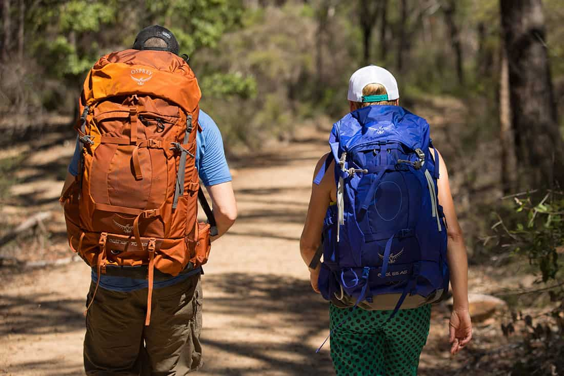 Osprey Aether & Ariel Backpacks