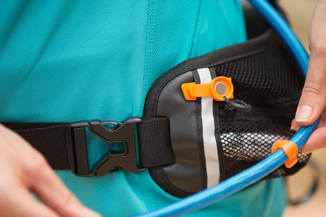Hose, side belt attachment.  Photo: ©Richard McGibbon