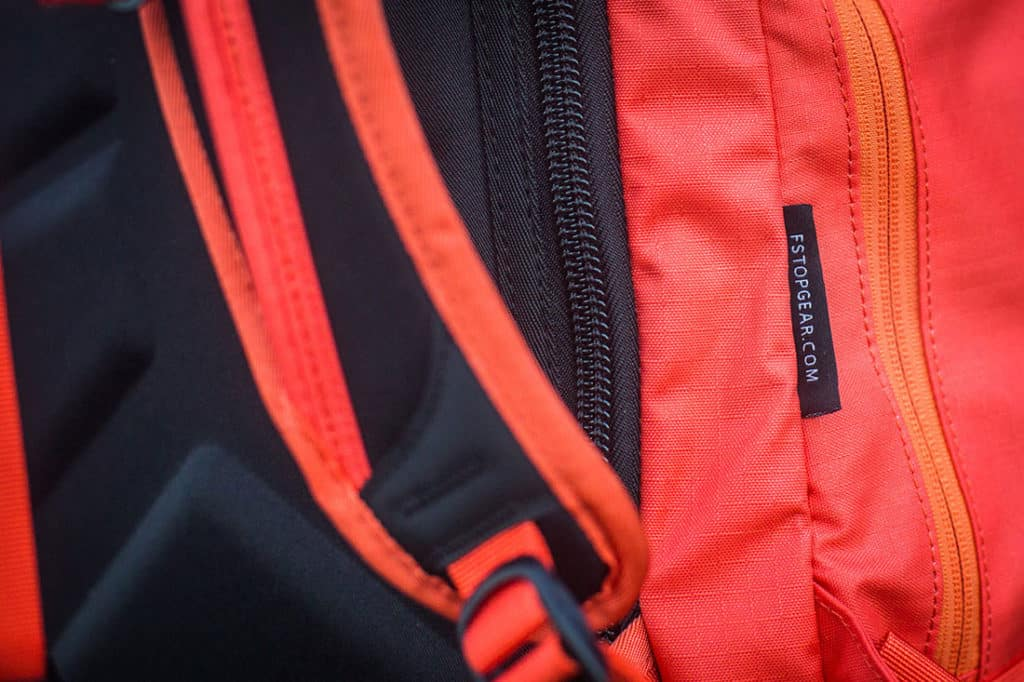 Catch free, heavy duty YKK zips. Photo: ©Richard McGibbon