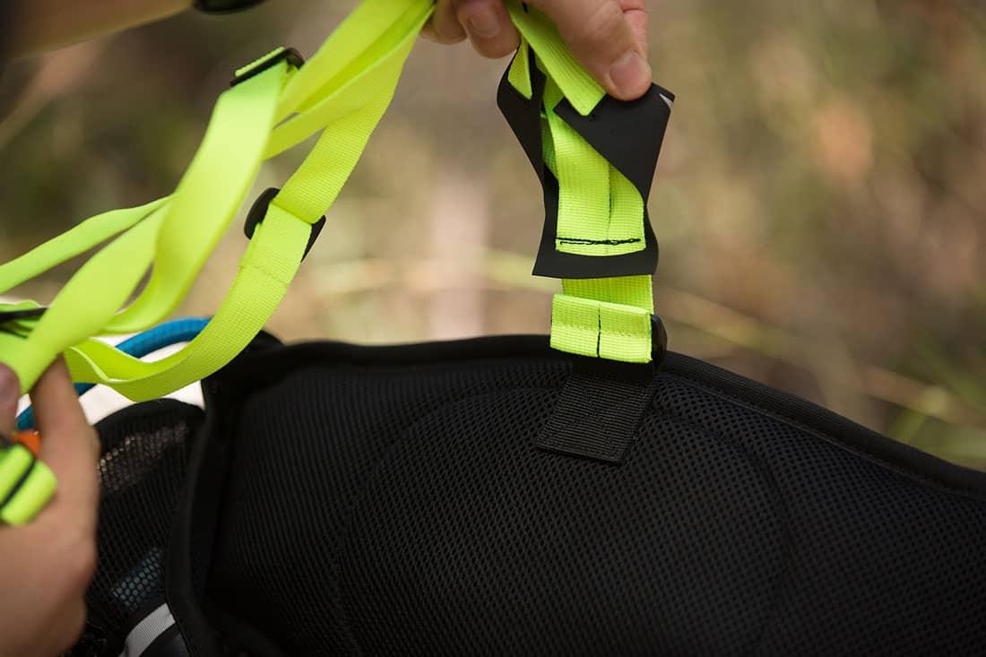 Removable harness.  Photo: ©Richard McGibbon