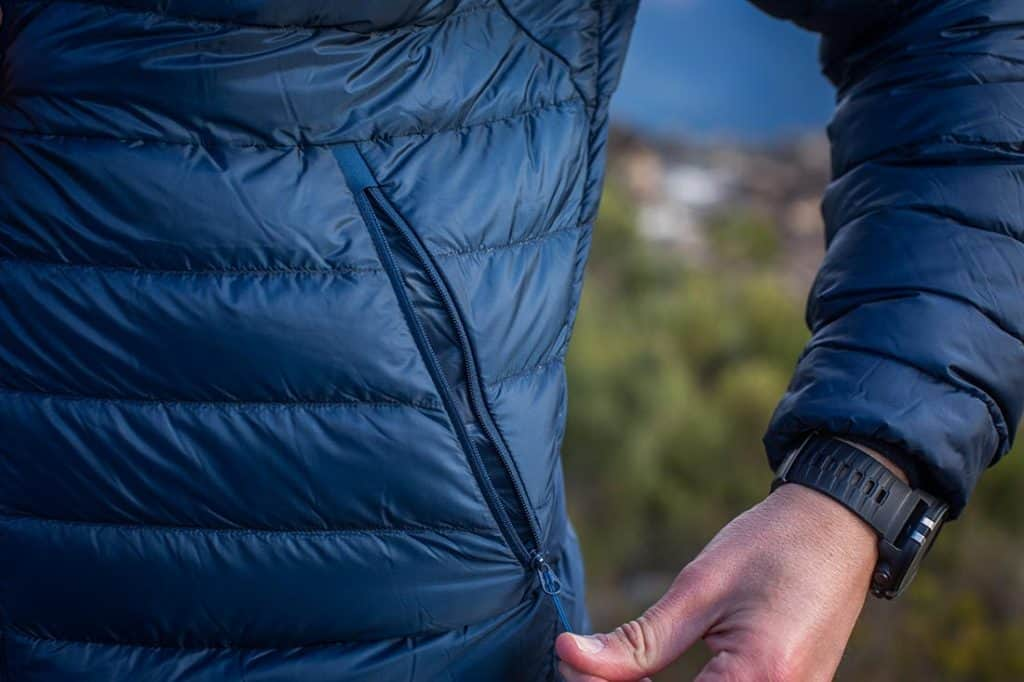 Two large zippered outer pockets. Photo: ©Richard McGibbon