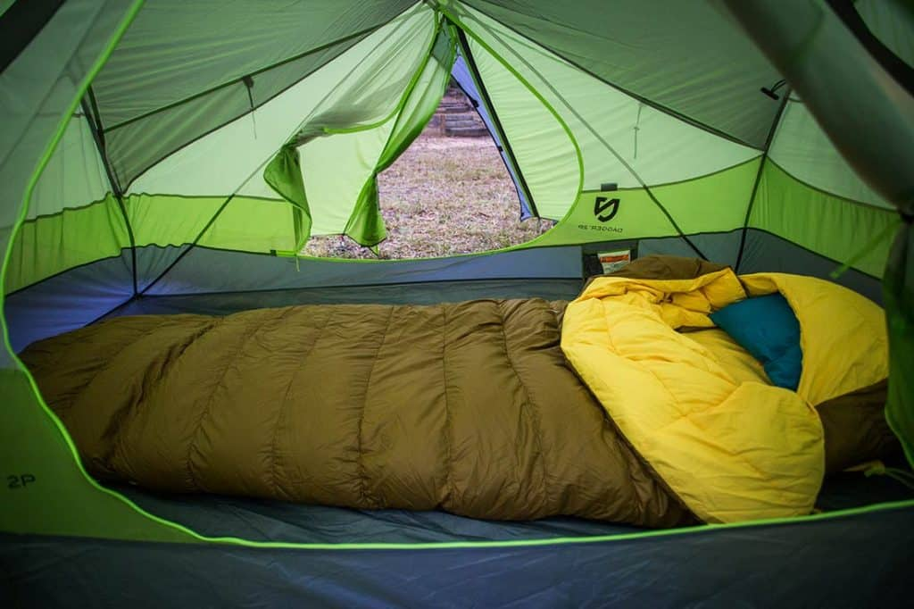 The Zenbivy Bed, very cozy. ©Richard McGibbon