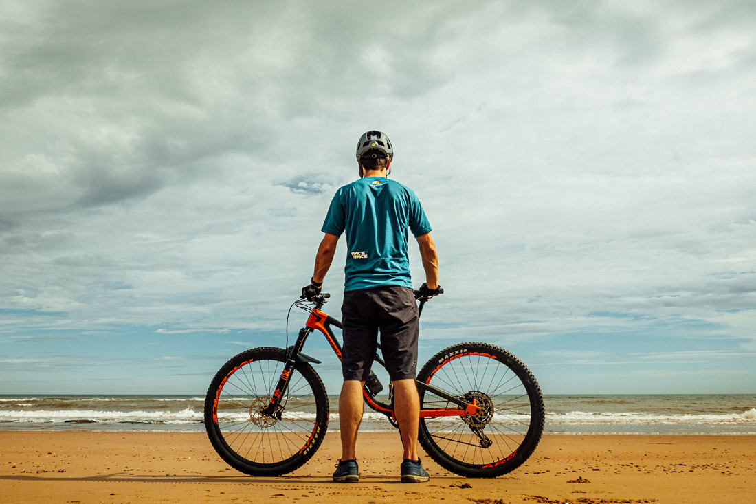 staying sane with less mountain biking