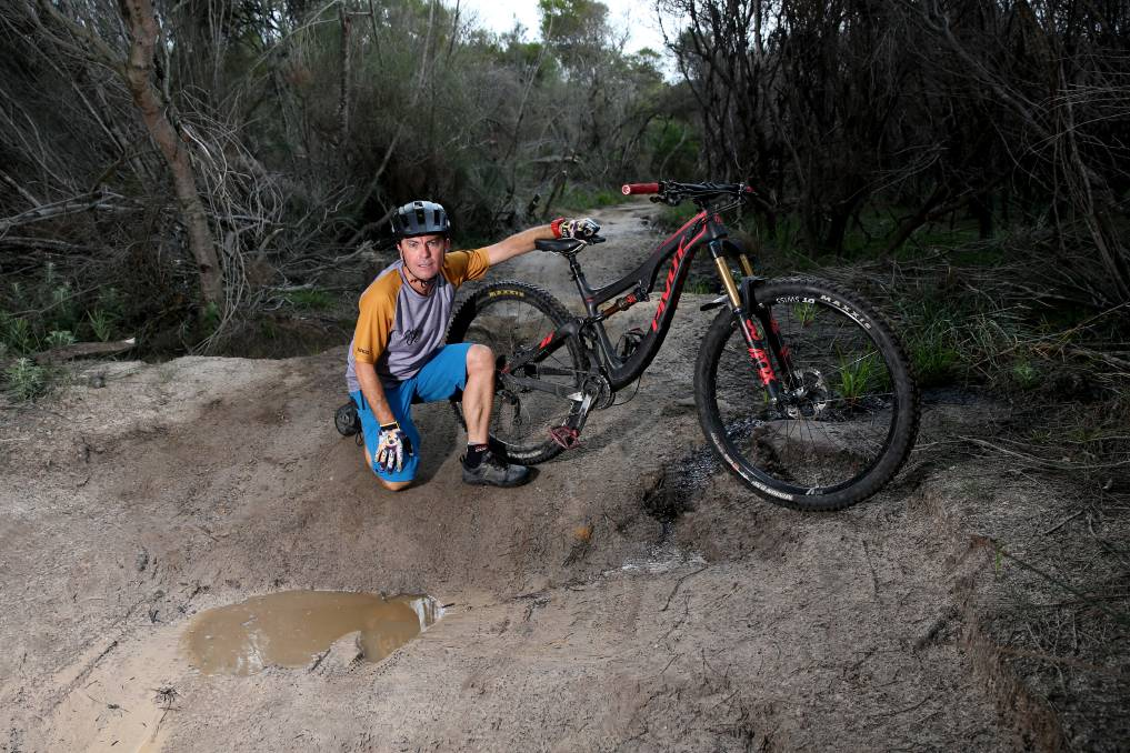 Manly dam left to rot
