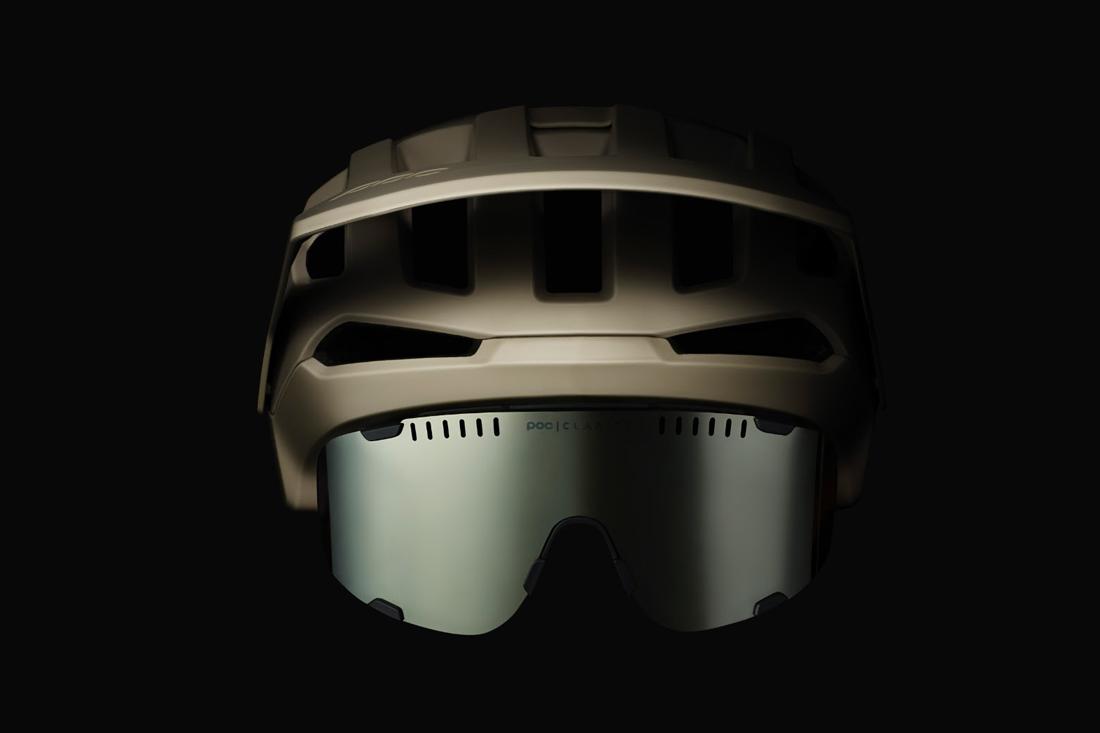 poc kortal helmet and devour glasses
