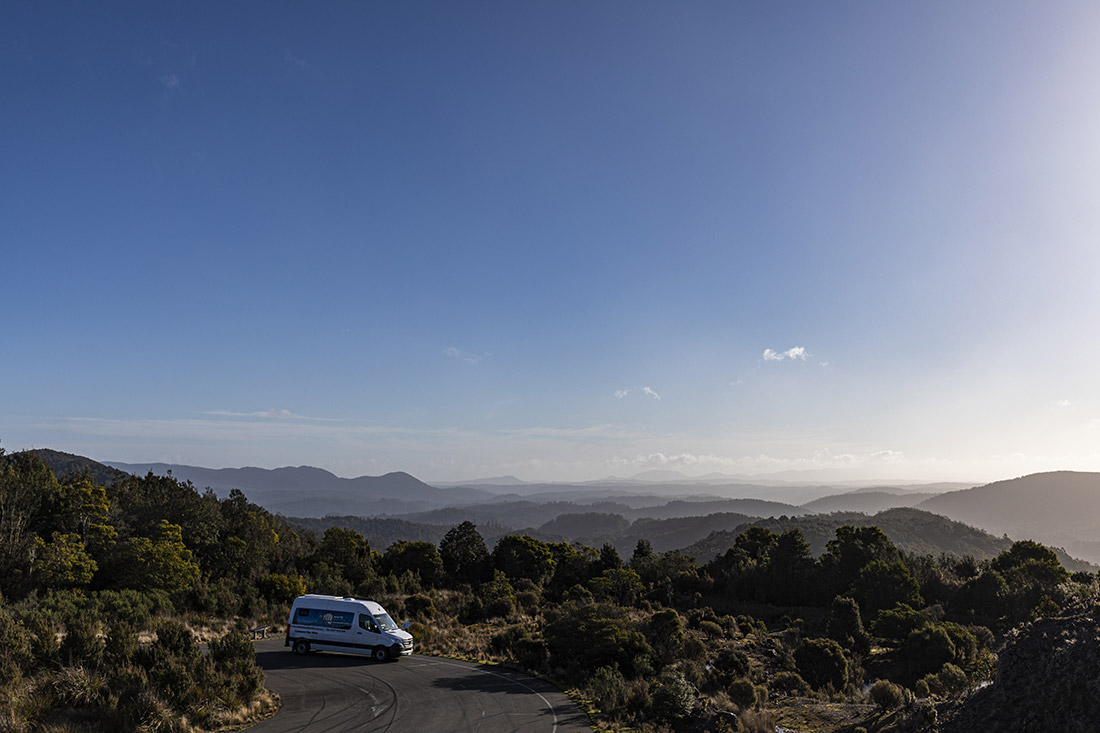 west tasmania mtb road trip