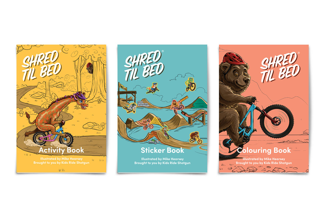 kids ride shotgun shred till bed book
